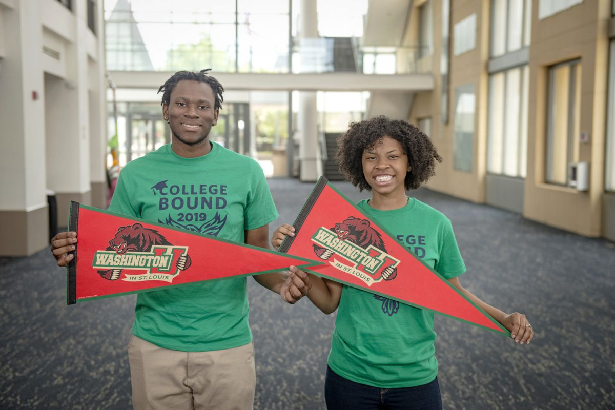Roy Antoine and Aaliyah Allen are heading to Washington University in St. Louis.