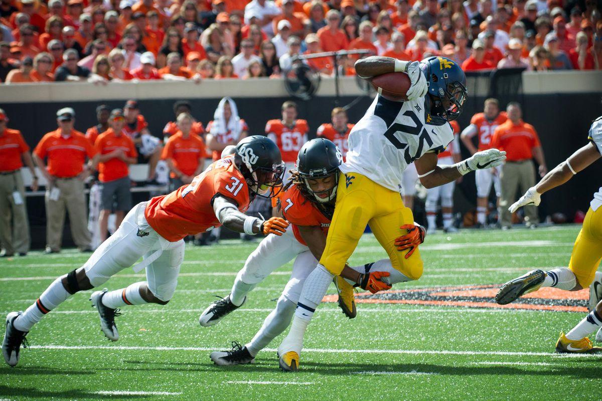 NCAA Football: West Virginia at Oklahoma State
