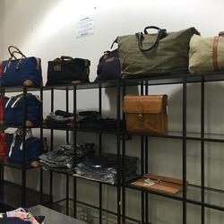 Bags, $50 (for non-leather) to $125 (leather)