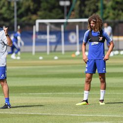 Ampadu and Alonso paying great attention