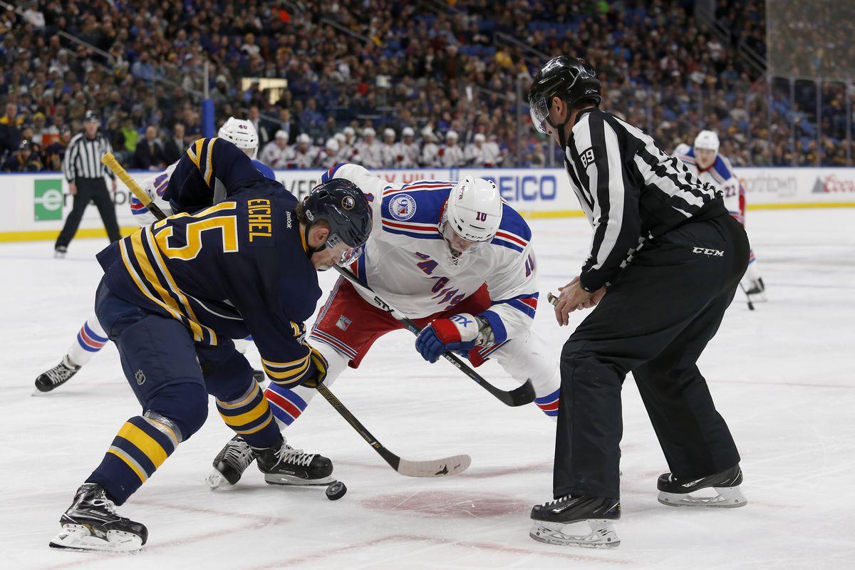 NHL: New York Rangers at Buffalo Sabres