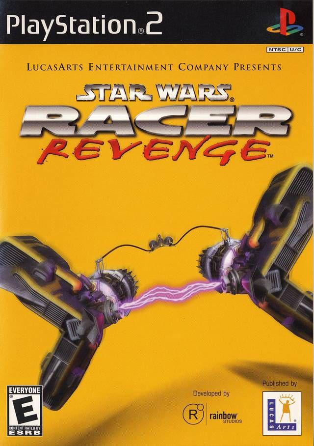 Star Wars Racer Revenge PS2 box