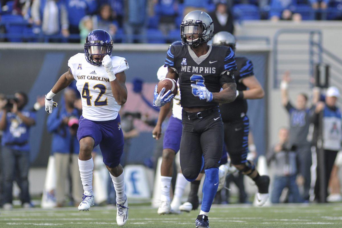 NCAA Football: East Carolina at Memphis