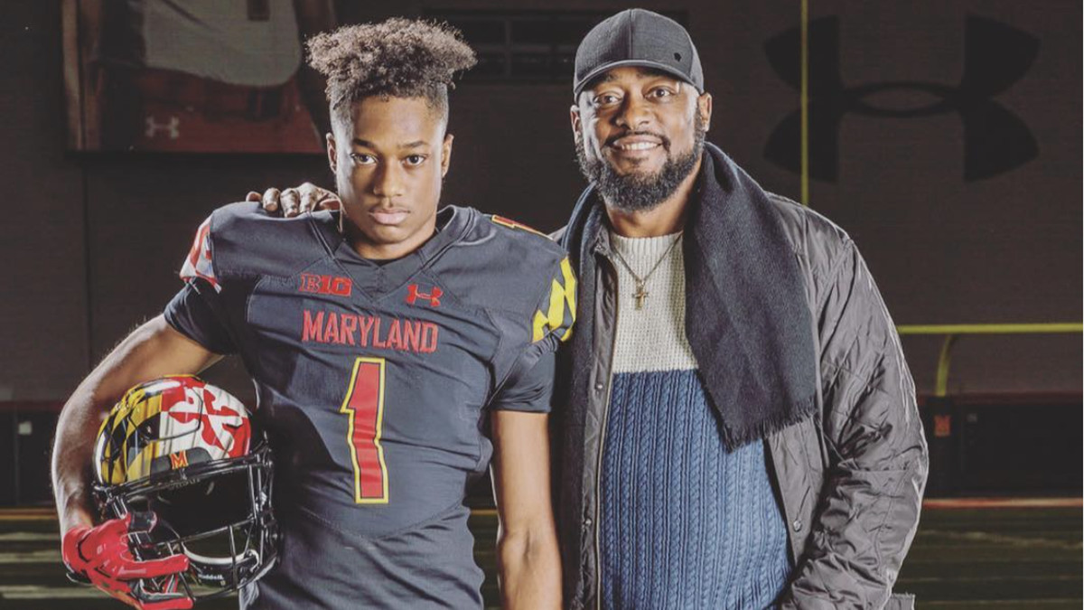 Steelers Mike Tomlin Son Dino Tomlin Brings Unique