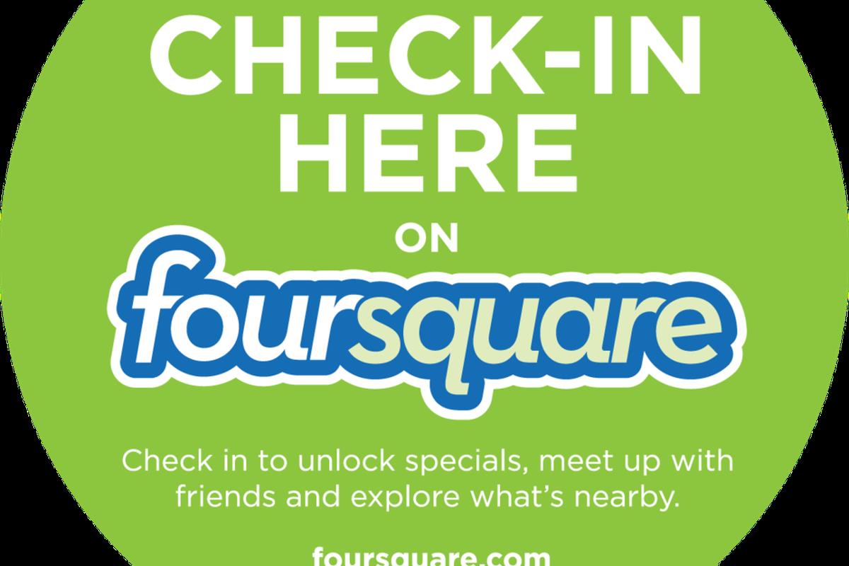 "via <a href=""http://www.theprprofessional.com/wp-content/uploads/2011/03/foursquare_checkin.png"">www.theprprofessional.com</a>"