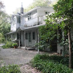 This is the former home of writer Upton Sinclair, called the Jungalow is shown on Sunday, Oct. 14, 2012 in Arden, Del. The Arden Craft Shop Museum has developed a self-guided walking tour of the community that was launched this month along with its annual exhibit.