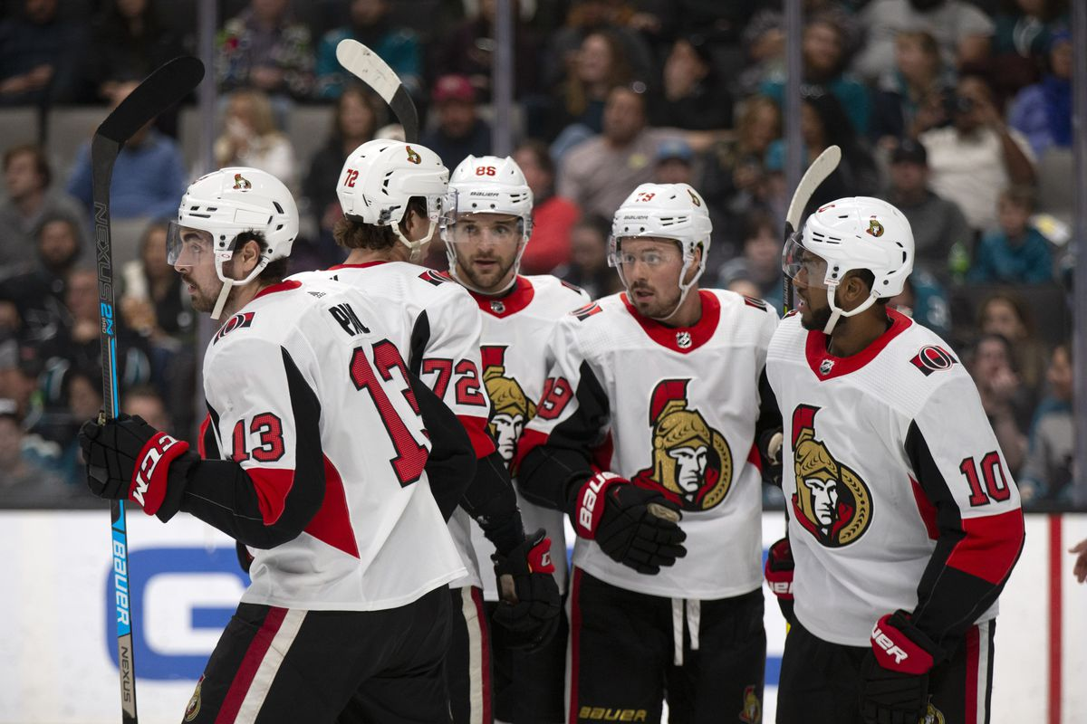 NHL: Ottawa Senators at San Jose Sharks