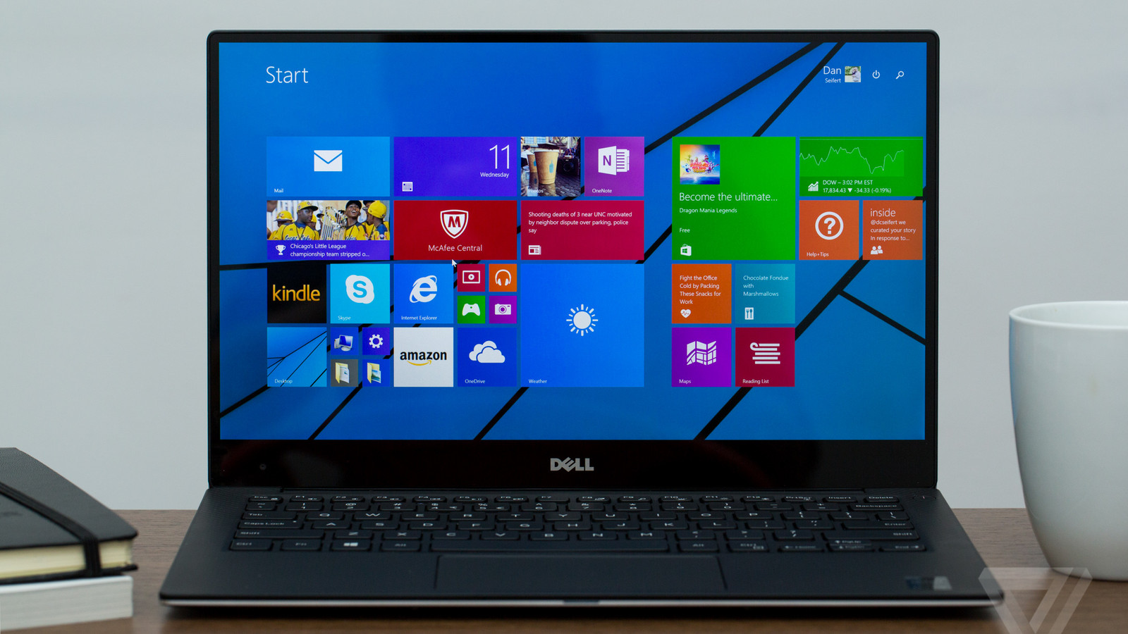 Dell S Xps 13 Is A Look At The Future Of Laptops The Verge