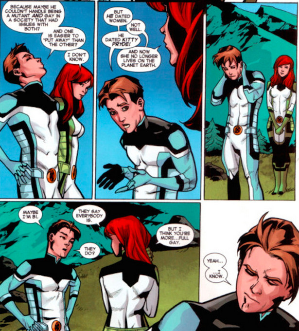 Iceman Comes Out
