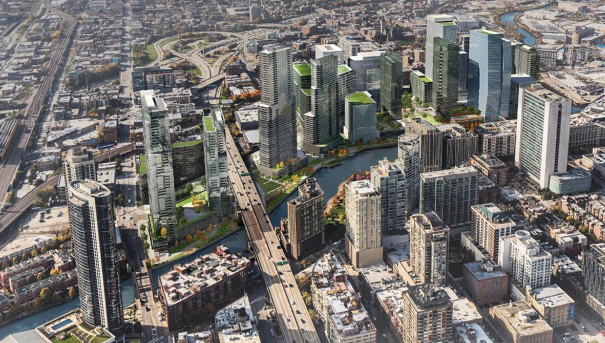 The City Council signed off on plans for a massive development on Chicago Avenue and the Chicago River currently home to the Freedom Center.   City of Chicago