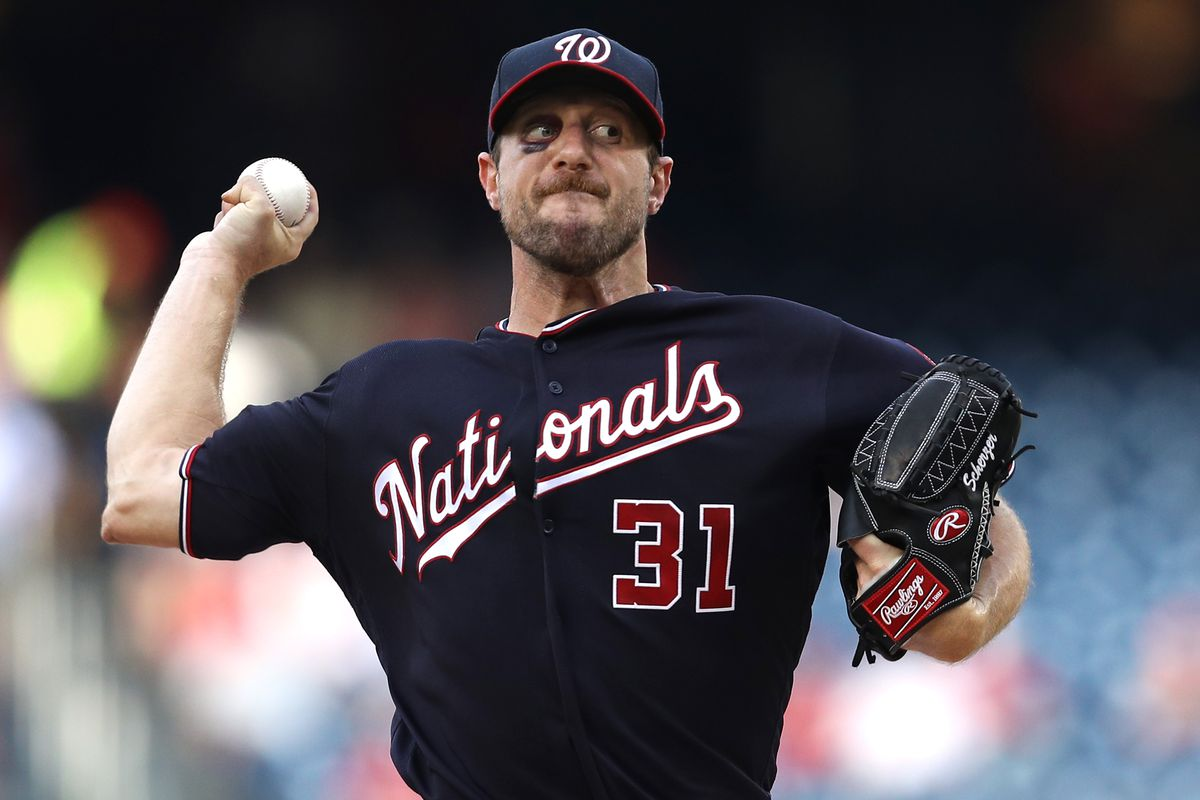 new styles 65e35 d4784 Wire Taps: Max Scherzer has night to remember; Patrick ...