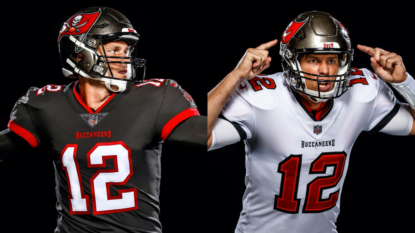 here s tom brady in a bucs jersey and it s actually good sbnation com here s tom brady in a bucs jersey and