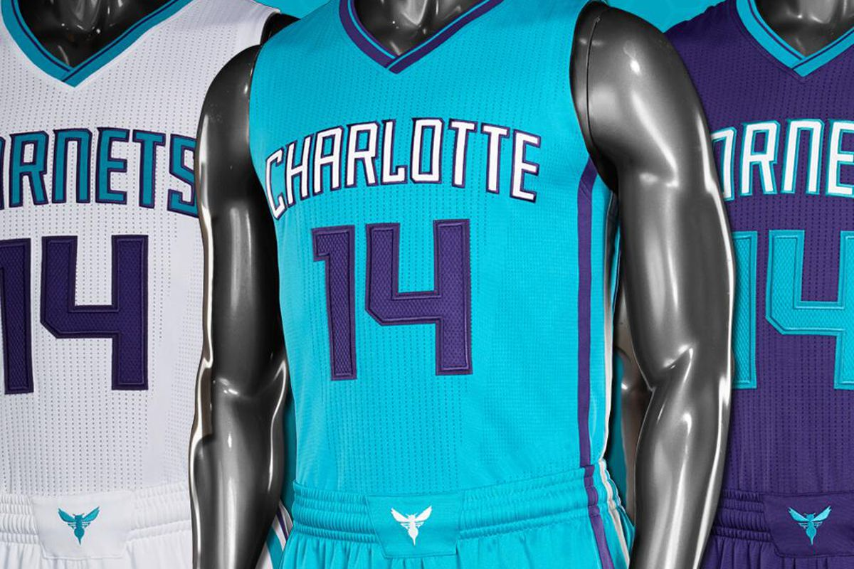 32191d8fe2c Charlotte Hornets unveil new uniforms - Land-Grant Holy Land