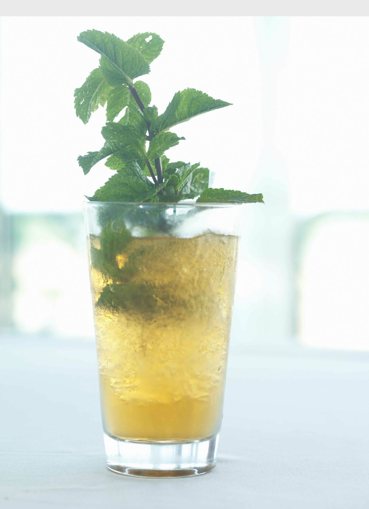 A classic mint julep is the perfect beverage for a Kentucky Derby party. | PRNewsFoto/Levy Restaurants/File