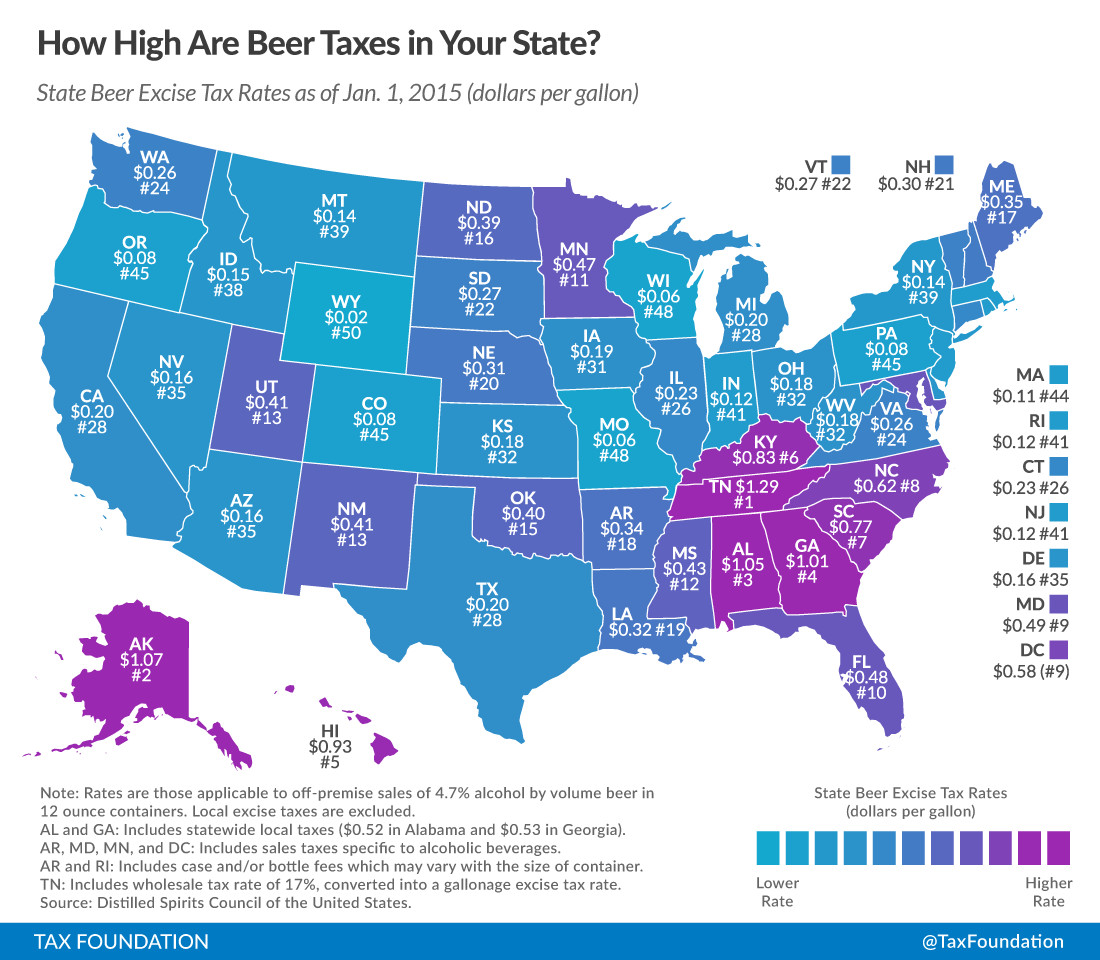 """<a href=""""http://taxfoundation.org/blog/how-high-are-beer-taxes-your-state"""">Tax Foundation</a>"""