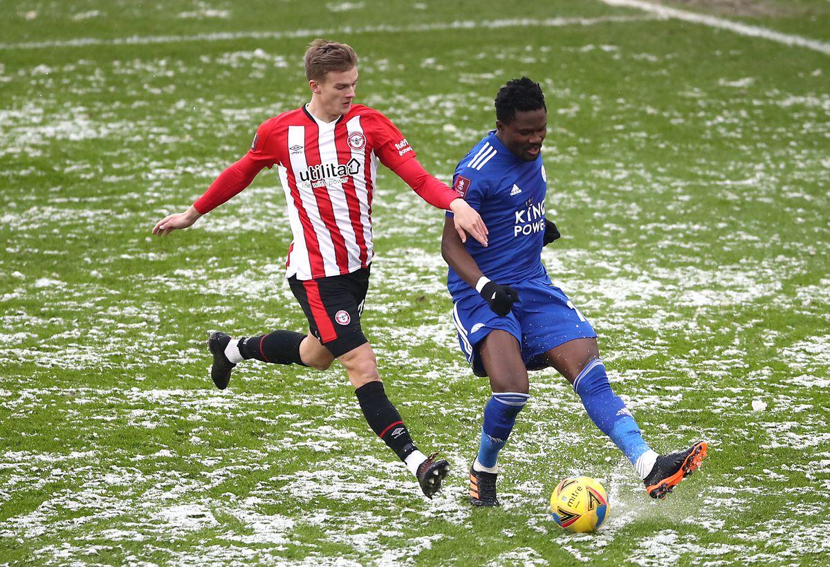Brentford v Leicester City - Emirates FA Cup - Fourth Round - Brentford Community Stadium