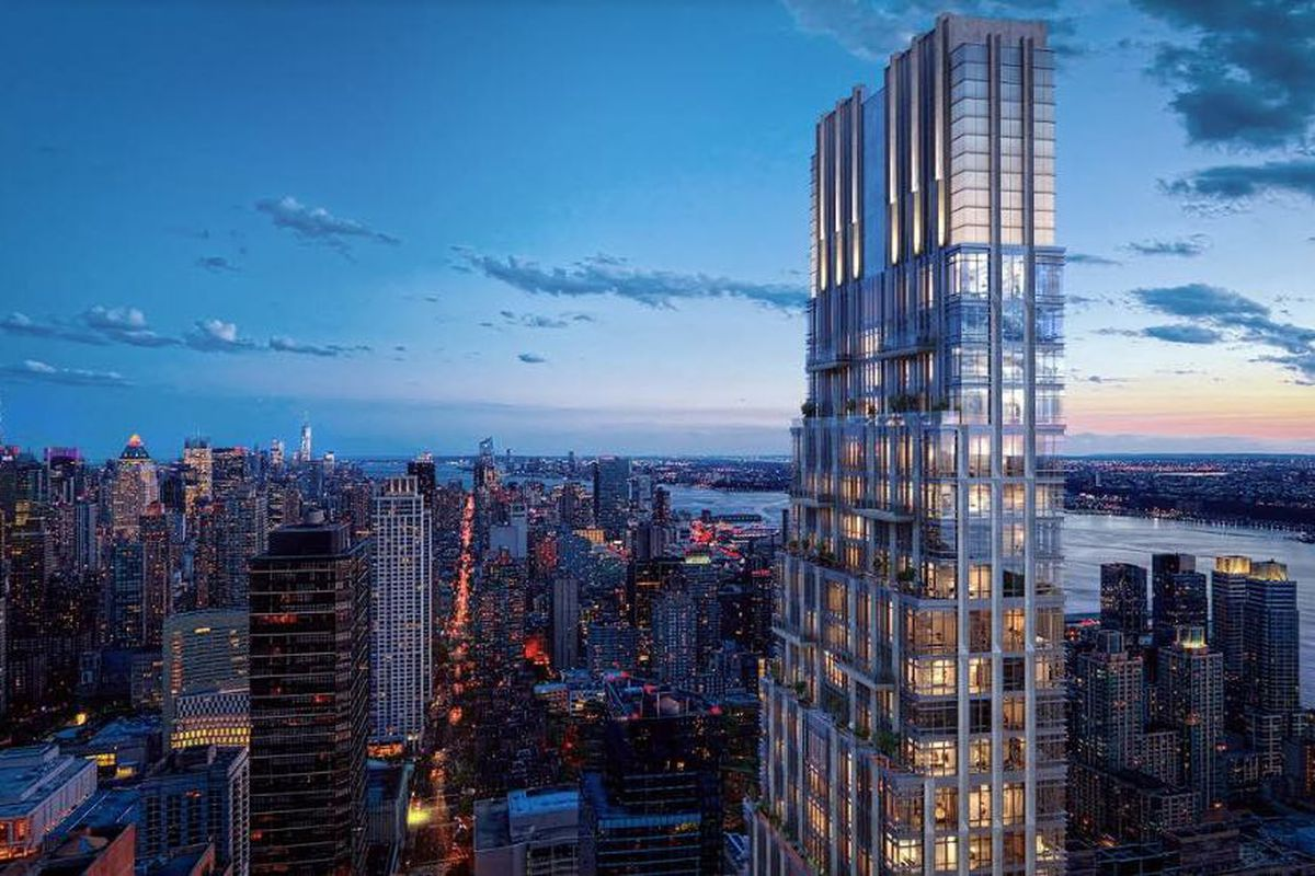 A rendering of 200 Amsterdam on the Upper West Side.