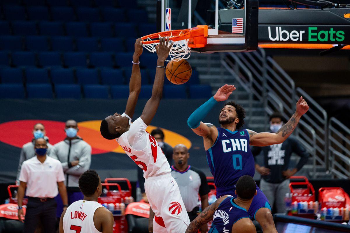 NBA: Charlotte Hornets at Toronto Raptors
