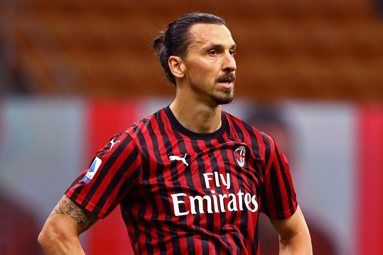 AC Milan Have Two Options For The Striker Position; Ibrahimovic Renewal Is Key