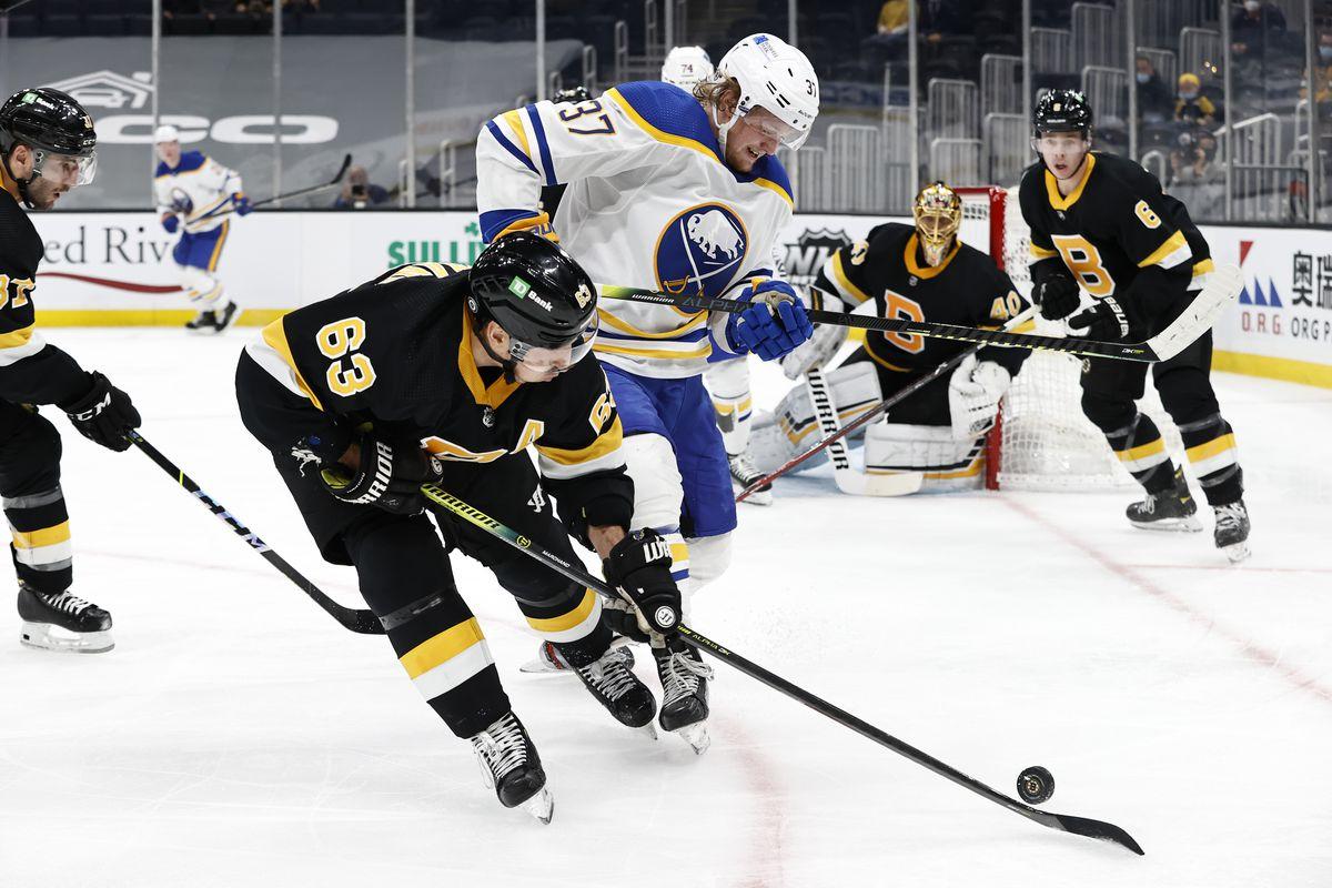 NHL: APR 29 Sabres at Bruins