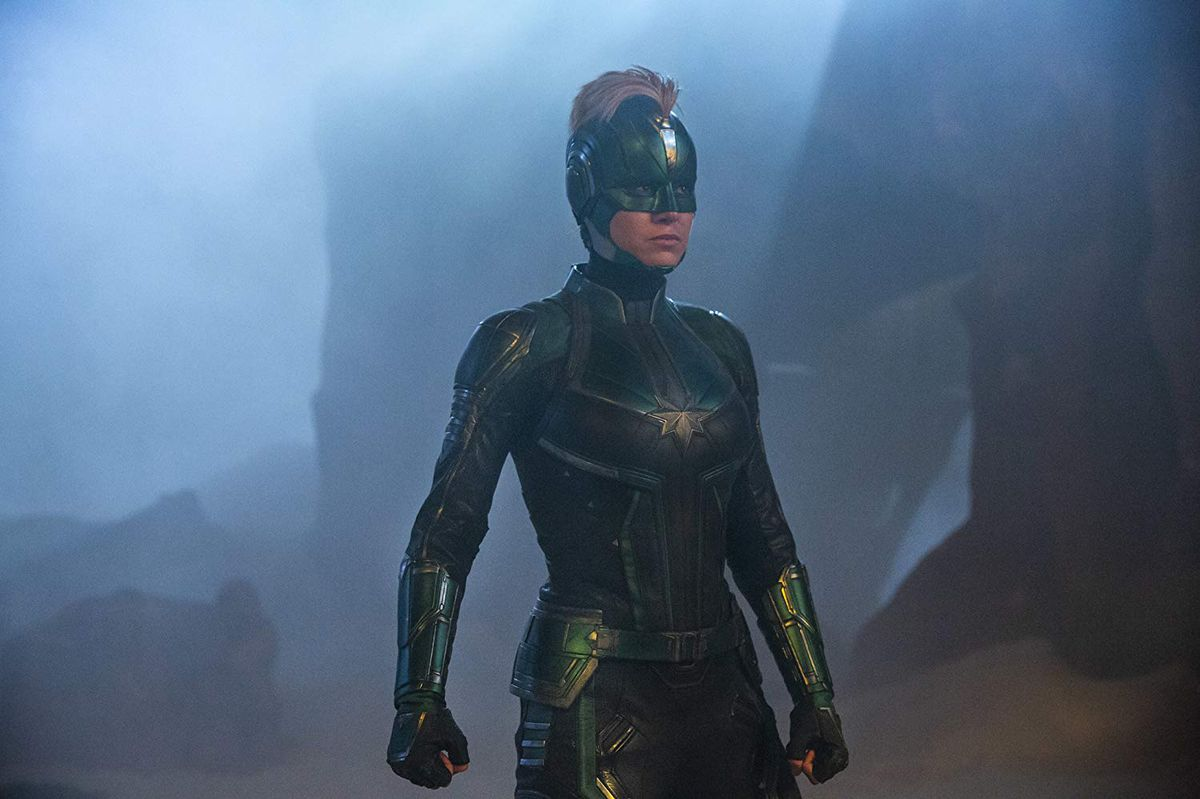 Captain Marvel Why Brie Larson S Suit Isn T Sexy Vox Many revisions were made, and here is the result🥂. captain marvel why brie larson s suit