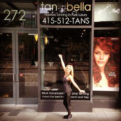 """<a href=""""http://www.tanbella.com"""">Tan Bella</a>, 272 King Street <br> On a weekly basis, I come here for their spray tan booth. It's so much safer than the tanning beds and only takes four minutes! If you speak to the owner, Greg Murray, tell him hello"""