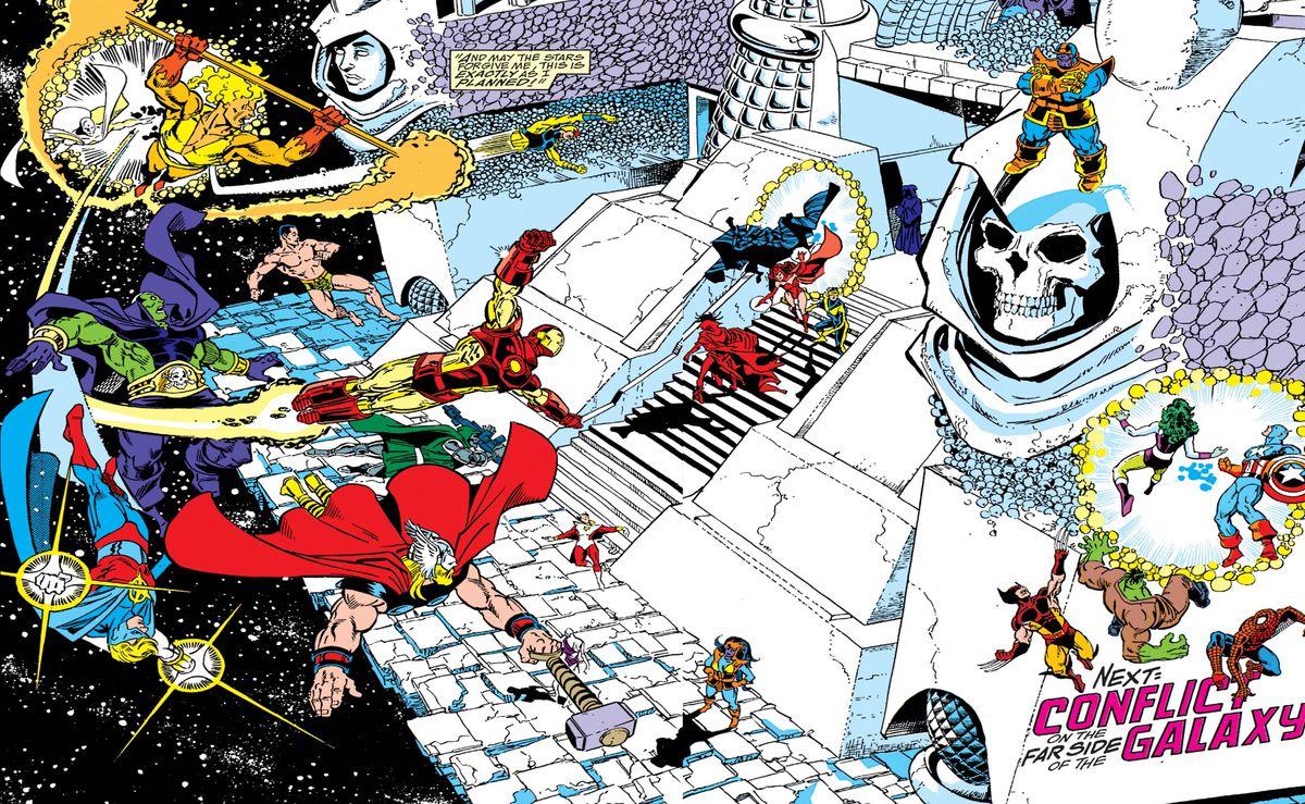 复仇者联盟:无限战争和残局如何在漫画中结束?