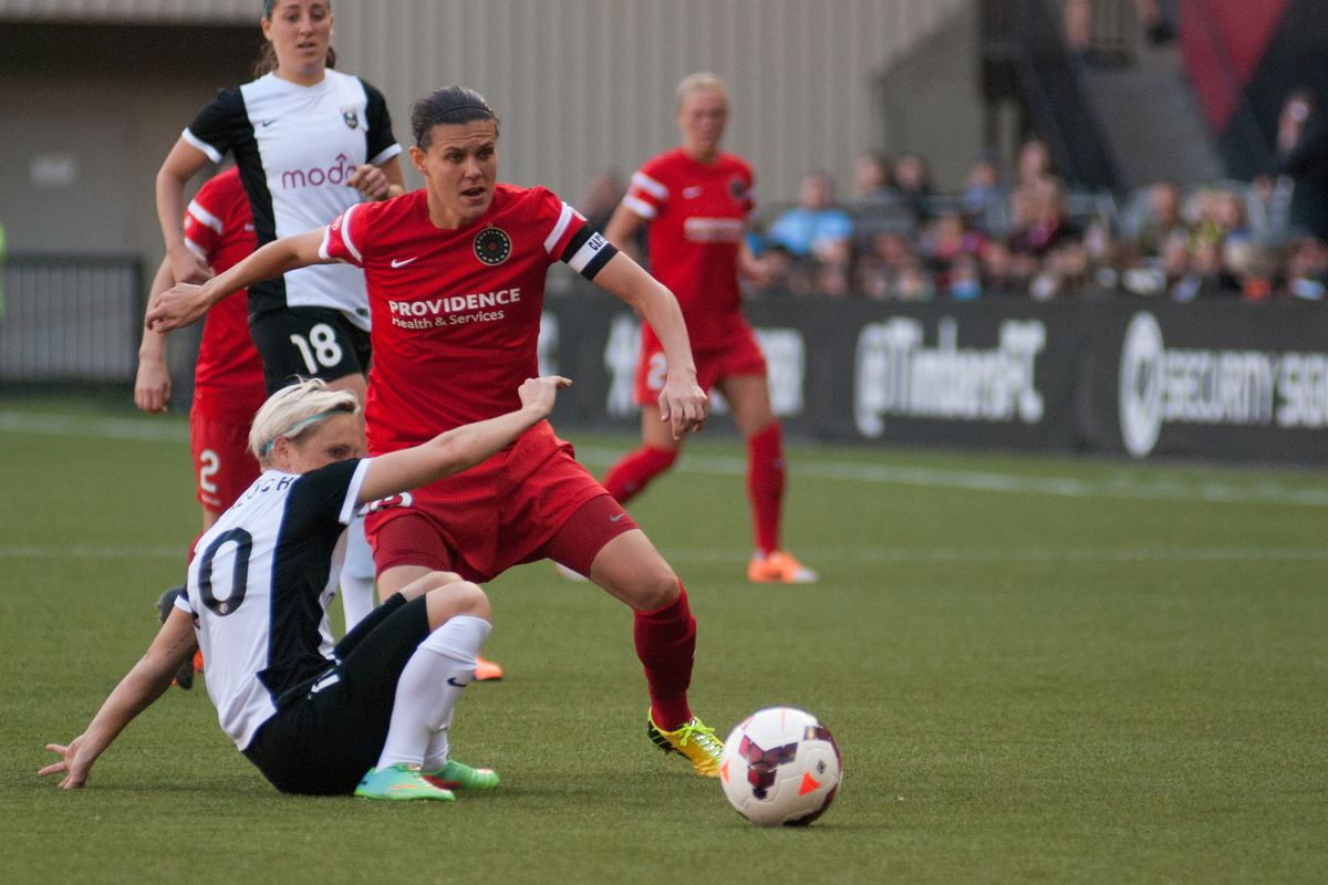 Not even the return of Christine Sinclair could spark the Thorns offense against the Reign.