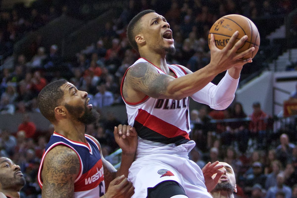 9f7cc08a9ffb69 Damian Lillard Scores 41 as Trail Blazers Down Wizards in Overtime ...