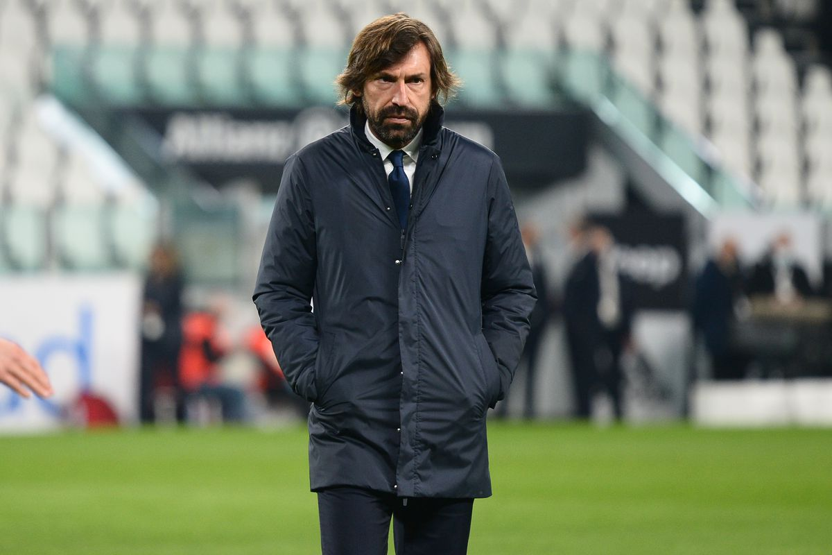 Andrea Pirlo head coach of Juventus FC during the Serie A...