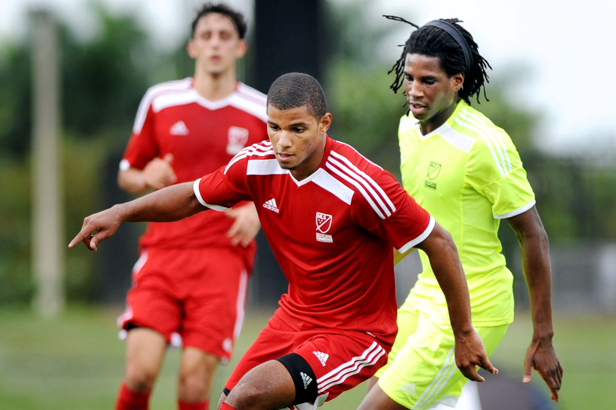 Omar Holness is one of seven Generation Adidas players in this year's draft.