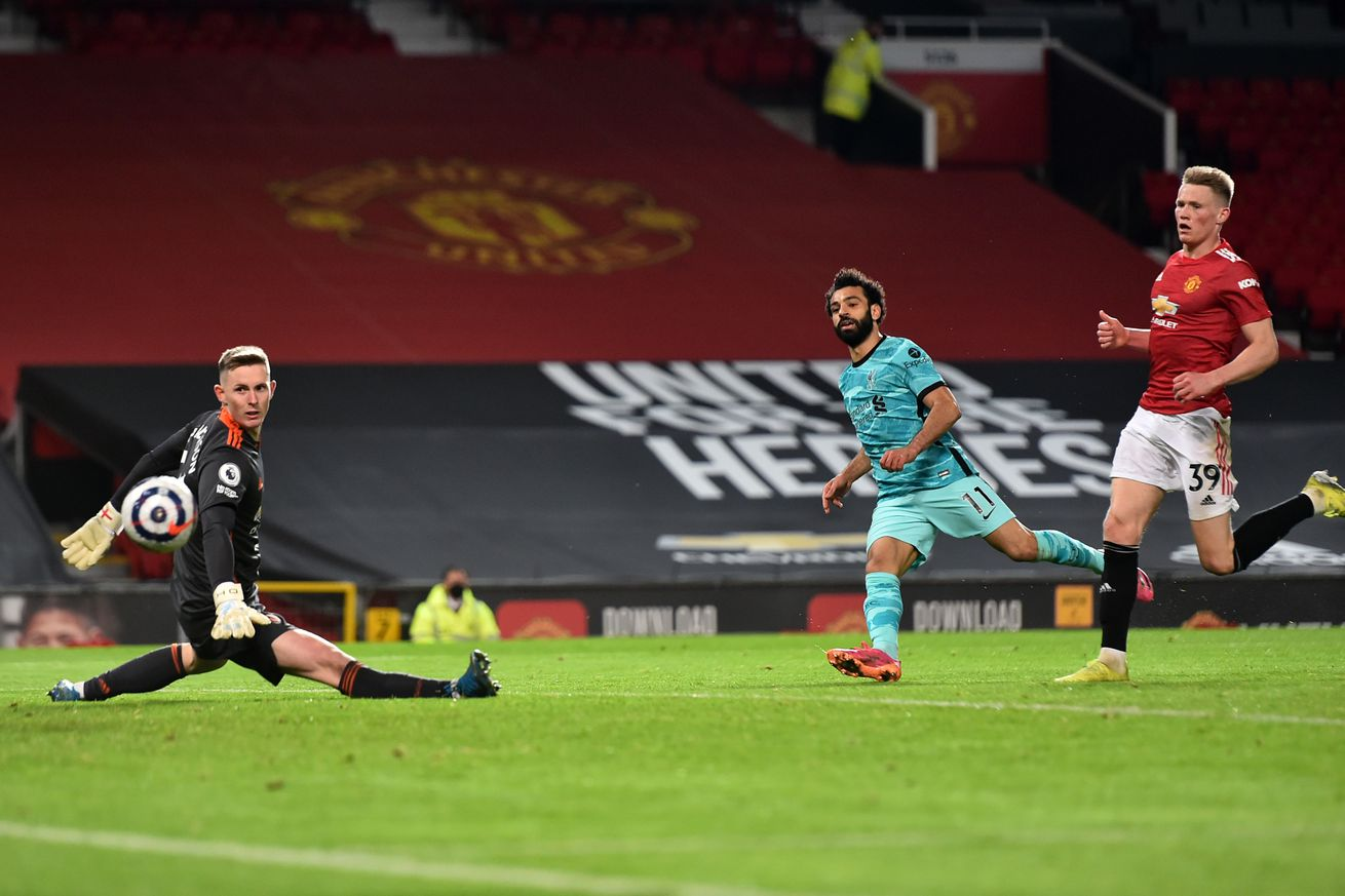 Manchester United 2, Liverpool 4- Match Recap:Reds Keep Champions League Hopes Alive