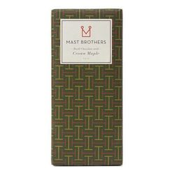 """Indulge your friends with one of the obsessed-over chocolate bars from Brooklyn's Mast Brothers. The Crown Maple Chocolate Bar, a 70% cacao concoction that includes syrup from """"the majestic sugar and red maple trees of the Hudson River Valley,"""" goes for $"""