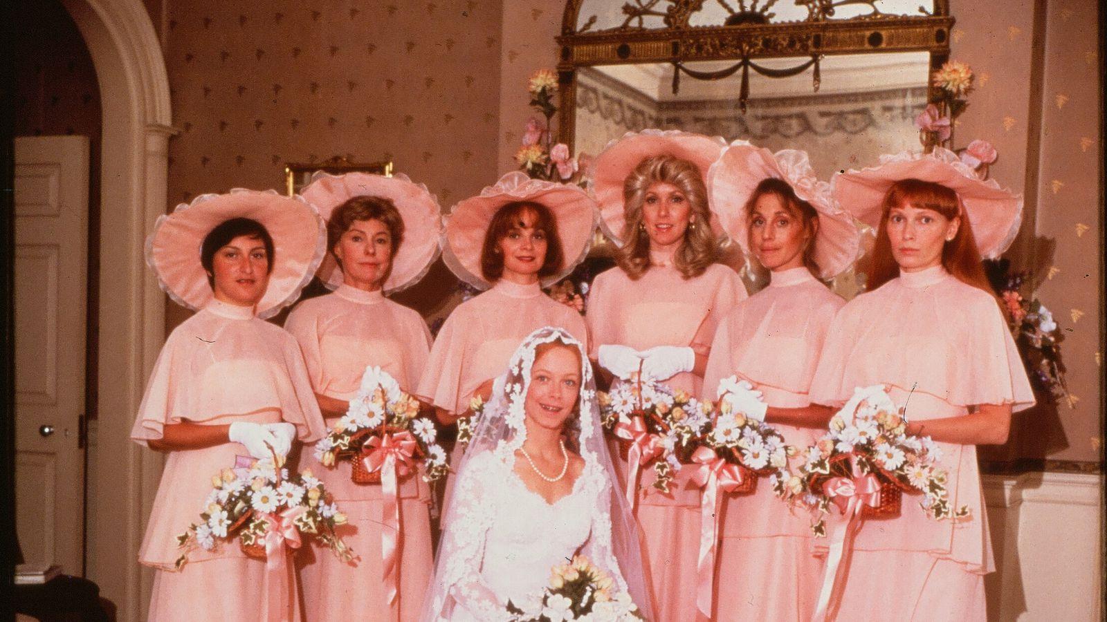 A cultural history of ugly bridesmaids dresses racked junglespirit Choice Image