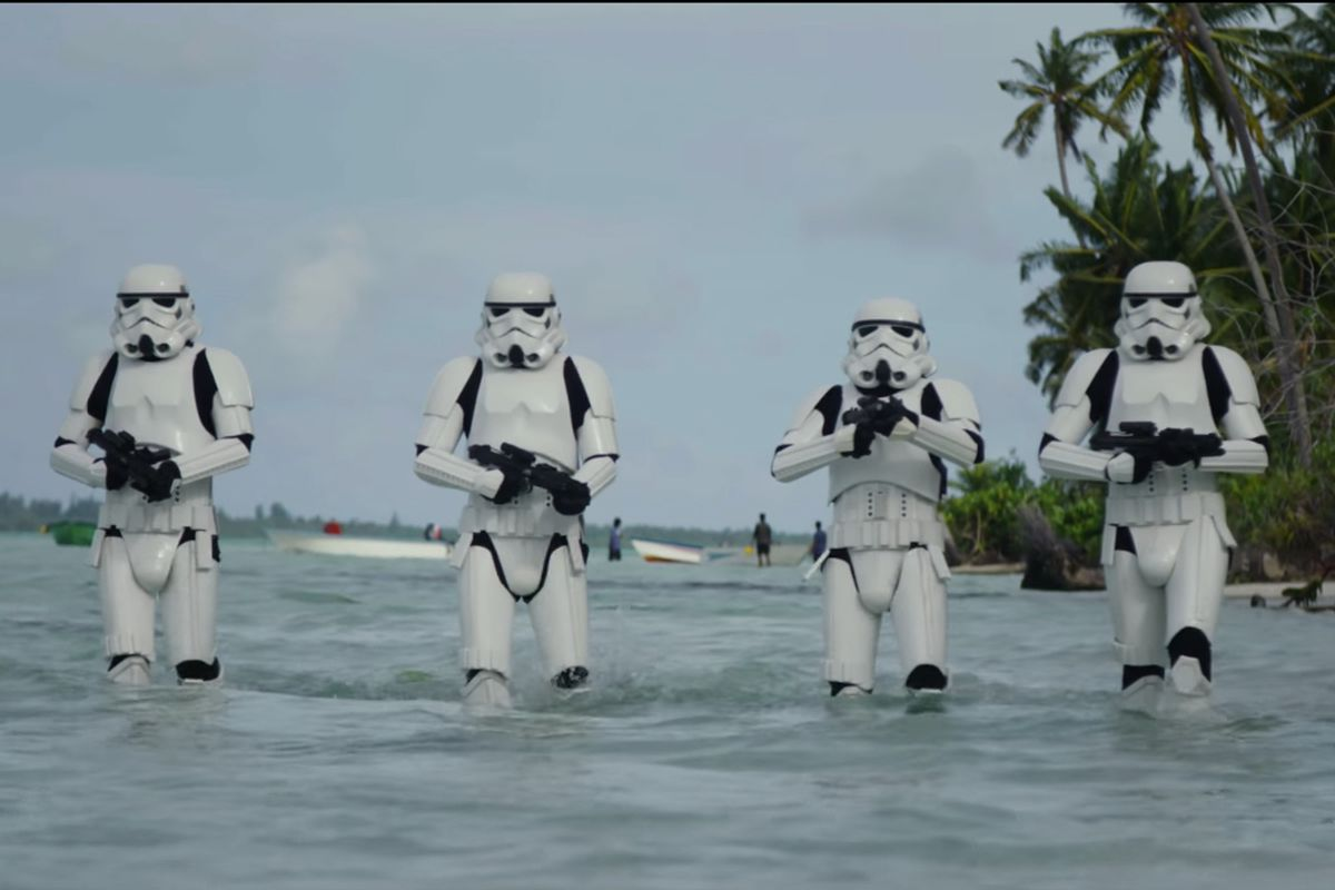 New Star Wars 'Rogue One' footage!