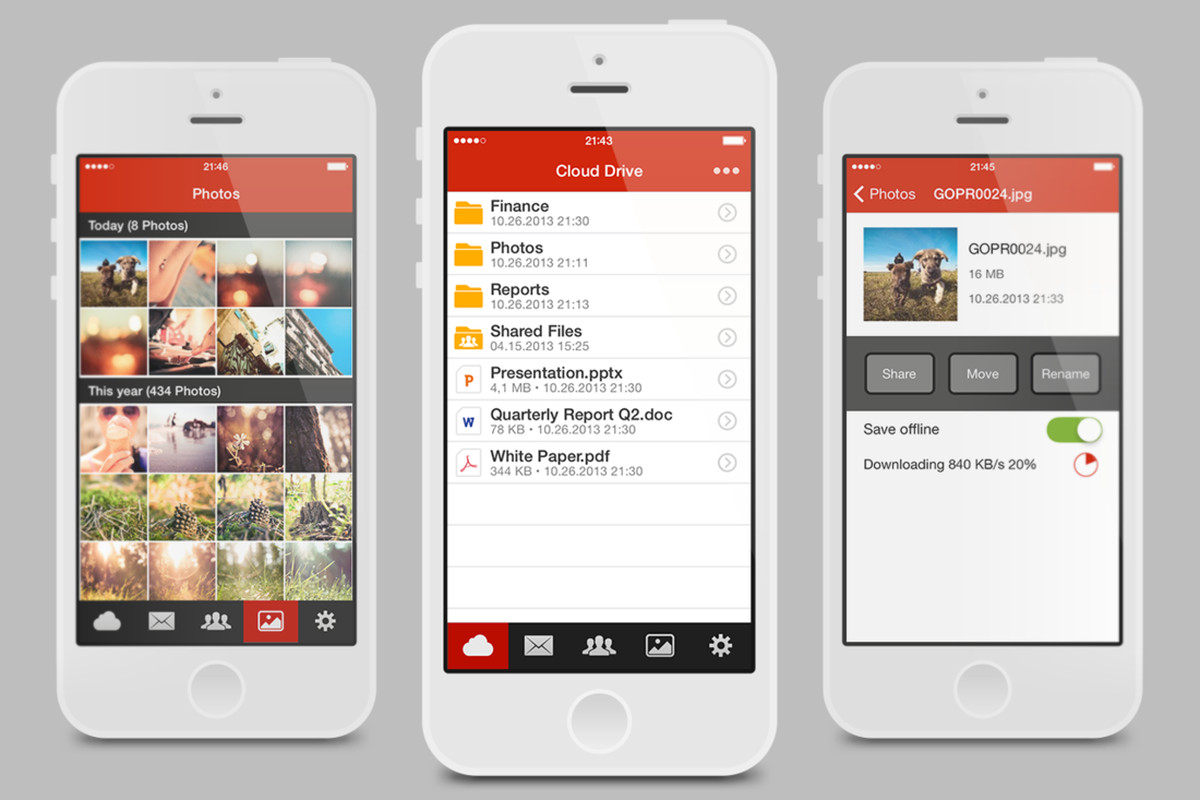 Kim Dotcom's Mega comes to iPhone with file sharing and in-app