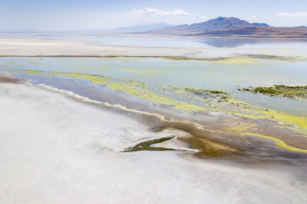 Do the world's declining lakes hold clues to save the Great Salt Lake?