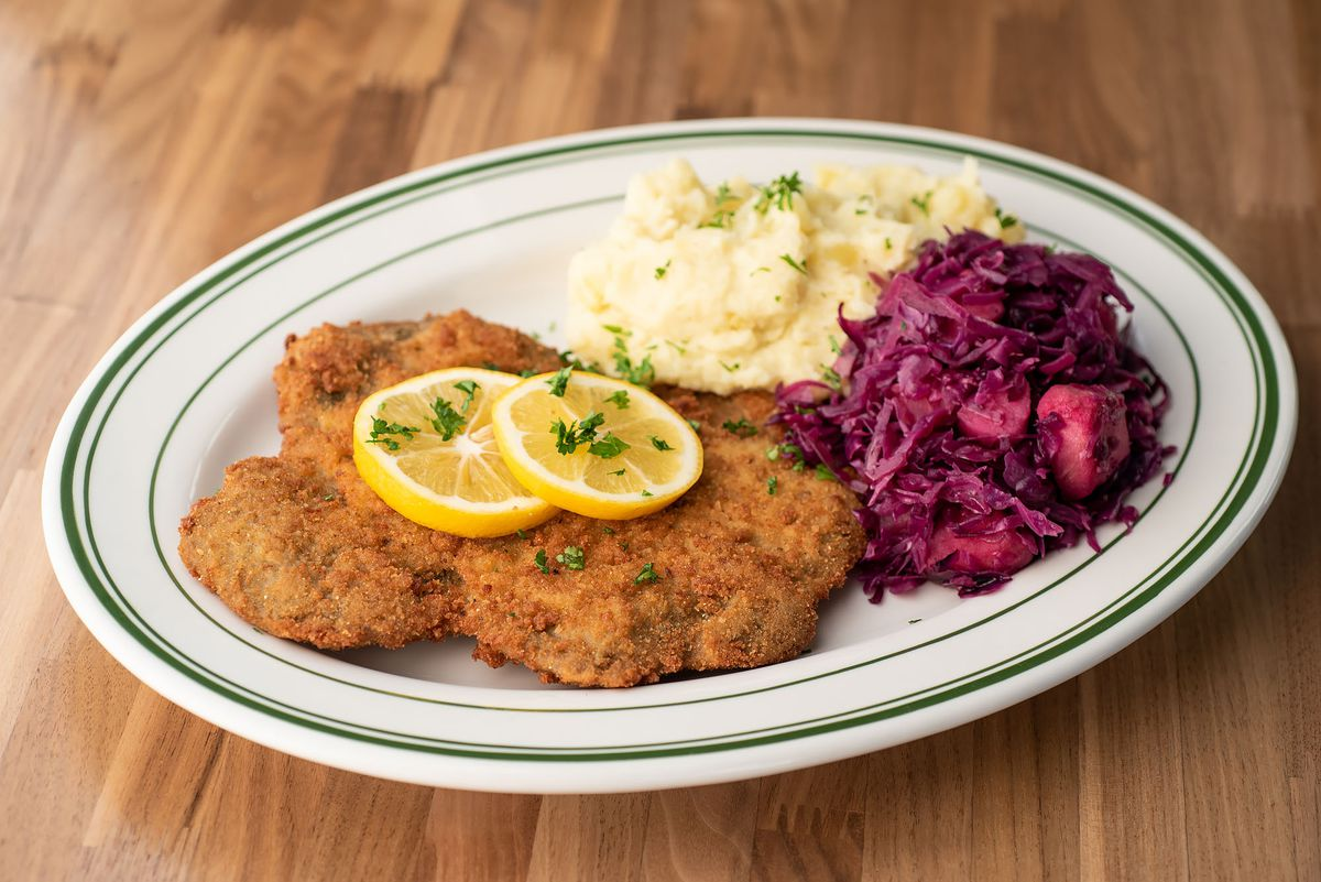 An All Vegan German Beer Hall Rises In Highland Park S