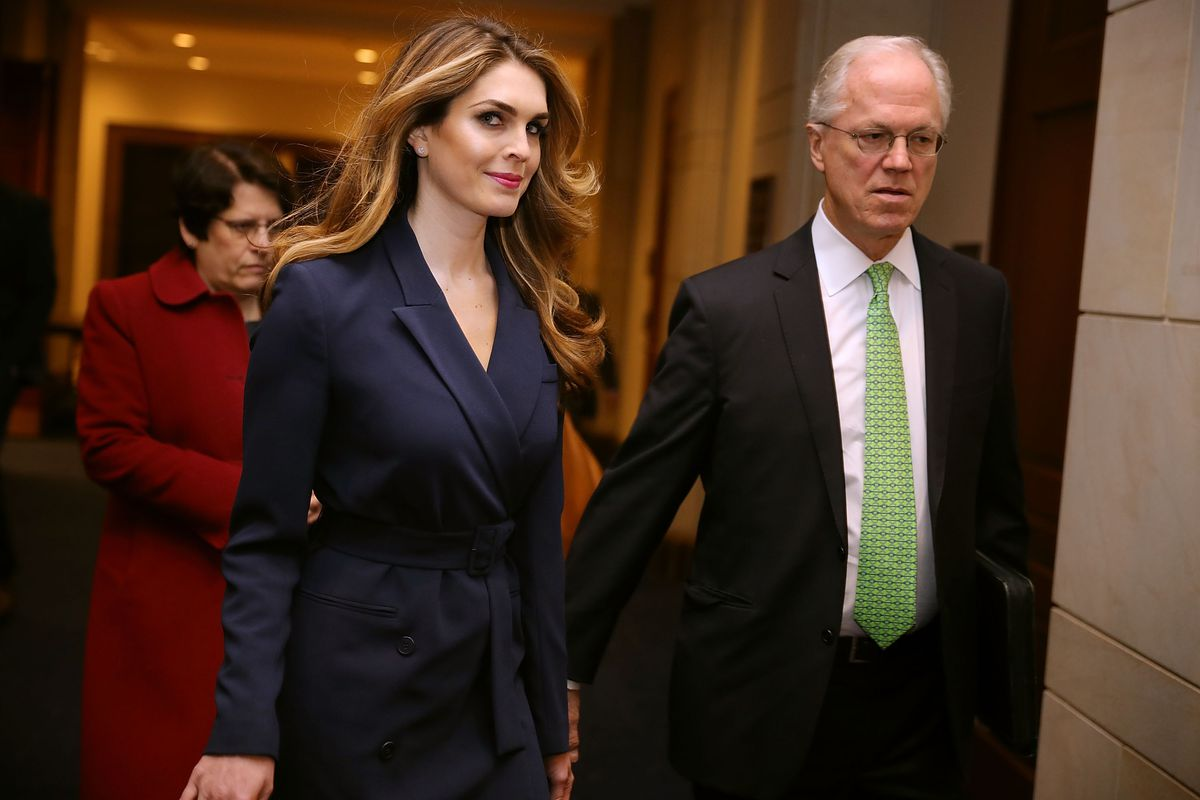 4e8a391fffce Hope Hicks will testify in front of the House Judiciary Committee next week