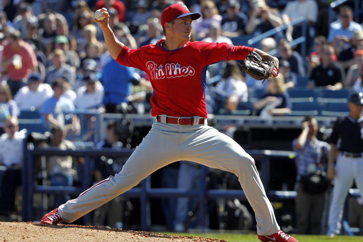 Buchanan is pitching like he wants to be in Philadelphia.