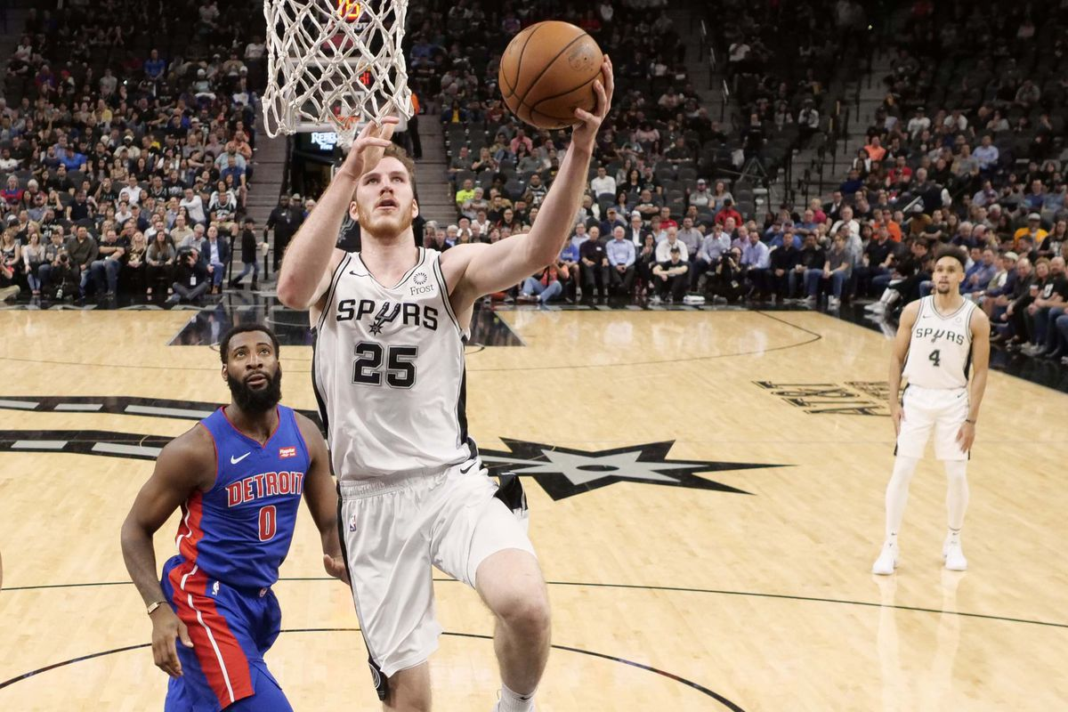 Image result for jakob poeltl spurs usa today