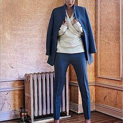 Leila jacket, Deena pants