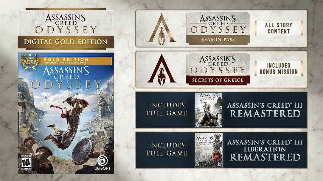 Assassins Creed Odyssey Which Edition Should I Buy Polygon