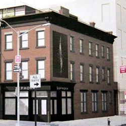 Sephora will make its mark atop some bricks over West 13th at Ninth.