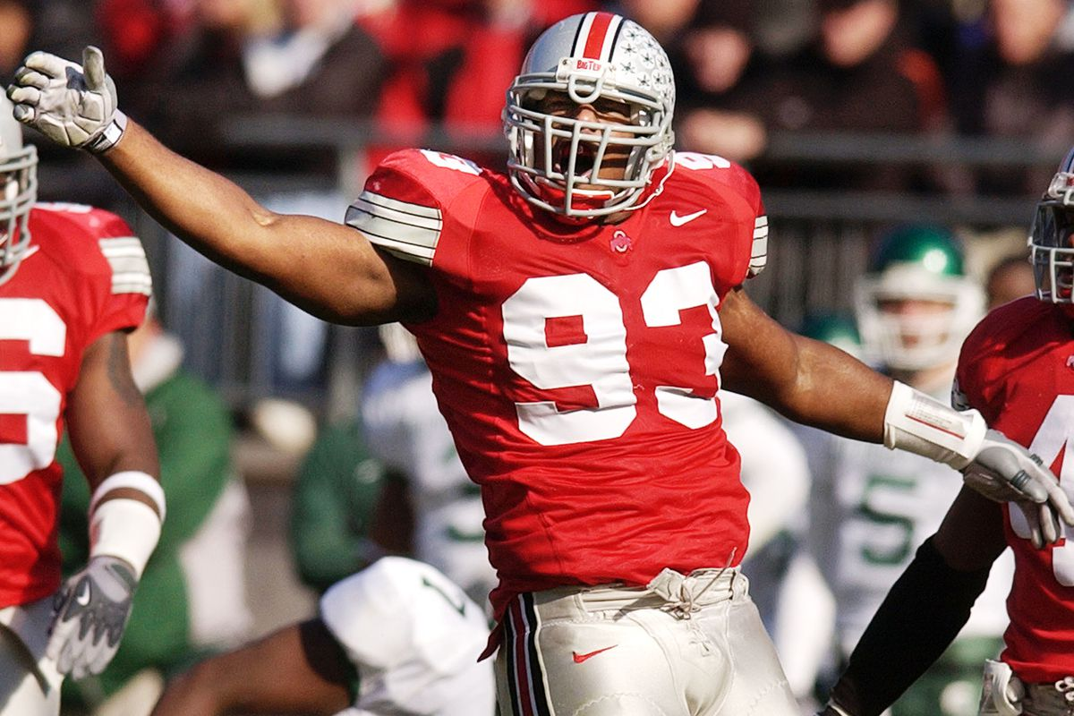 Ohio State Football All Decade Team Will Smith Vernon Gholston Land Grant Holy Land