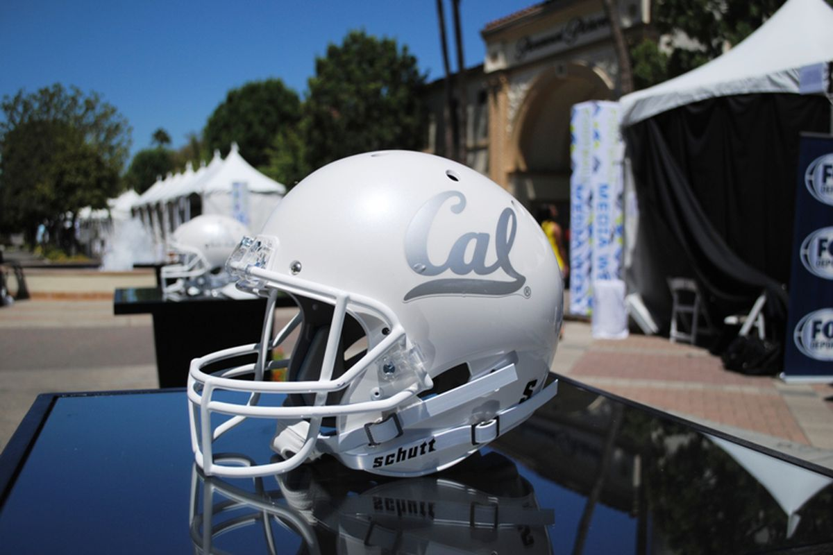 These white Cal helmets refuse to die.