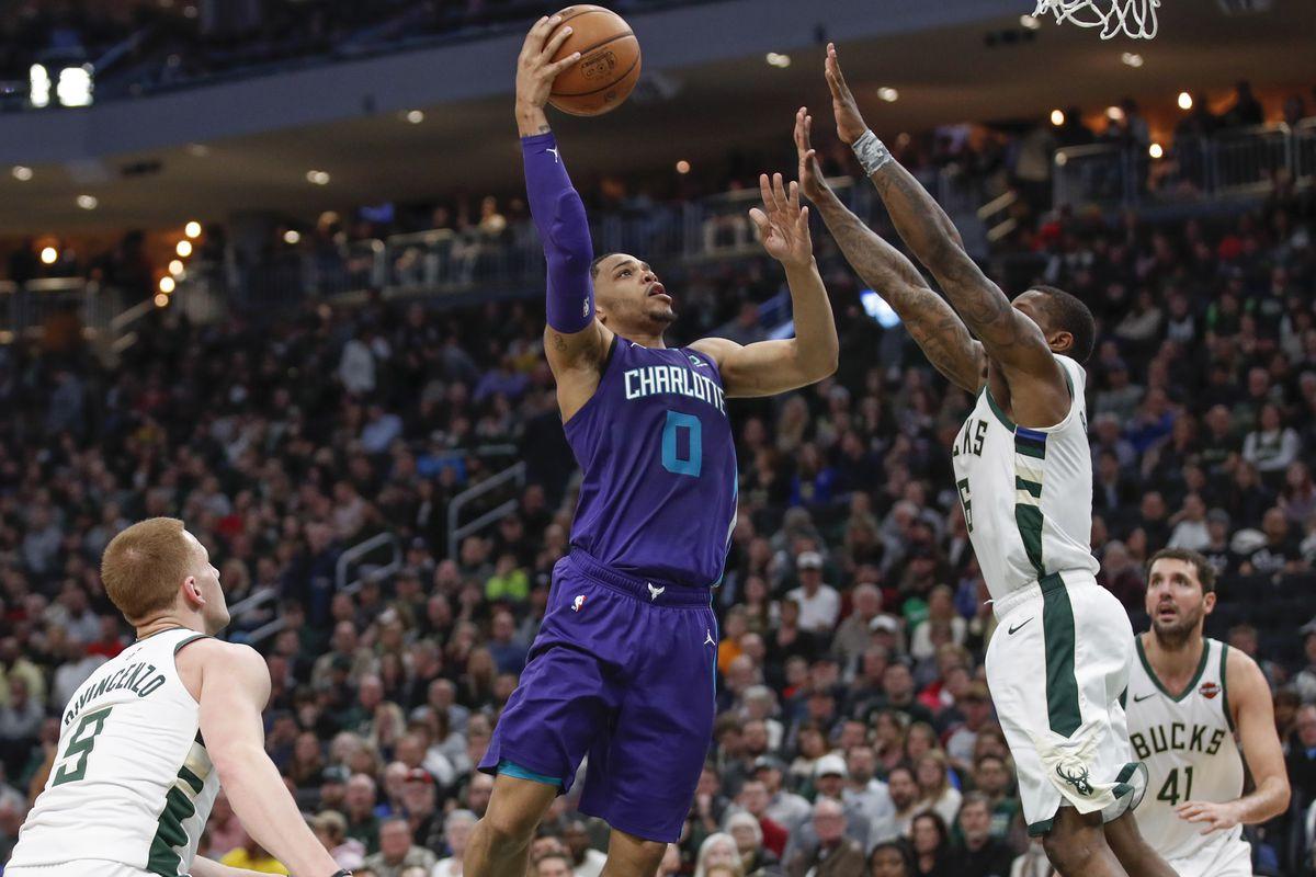 NBA: Charlotte Hornets at Milwaukee Bucks