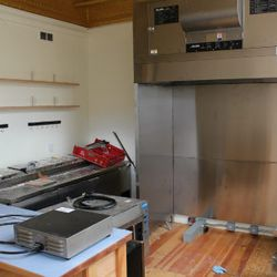 The open kitchen will be surrounded by a 14-seat bar.