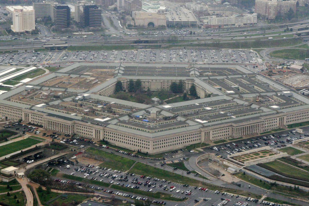 This March 27, 2008, file photo, shows the Pentagon in Washington. The Associated Press has learned that leaders of the military services have expressed reservations to Defense Secretary Lloyd Austin about removing sexual assault cases from the chain of command.