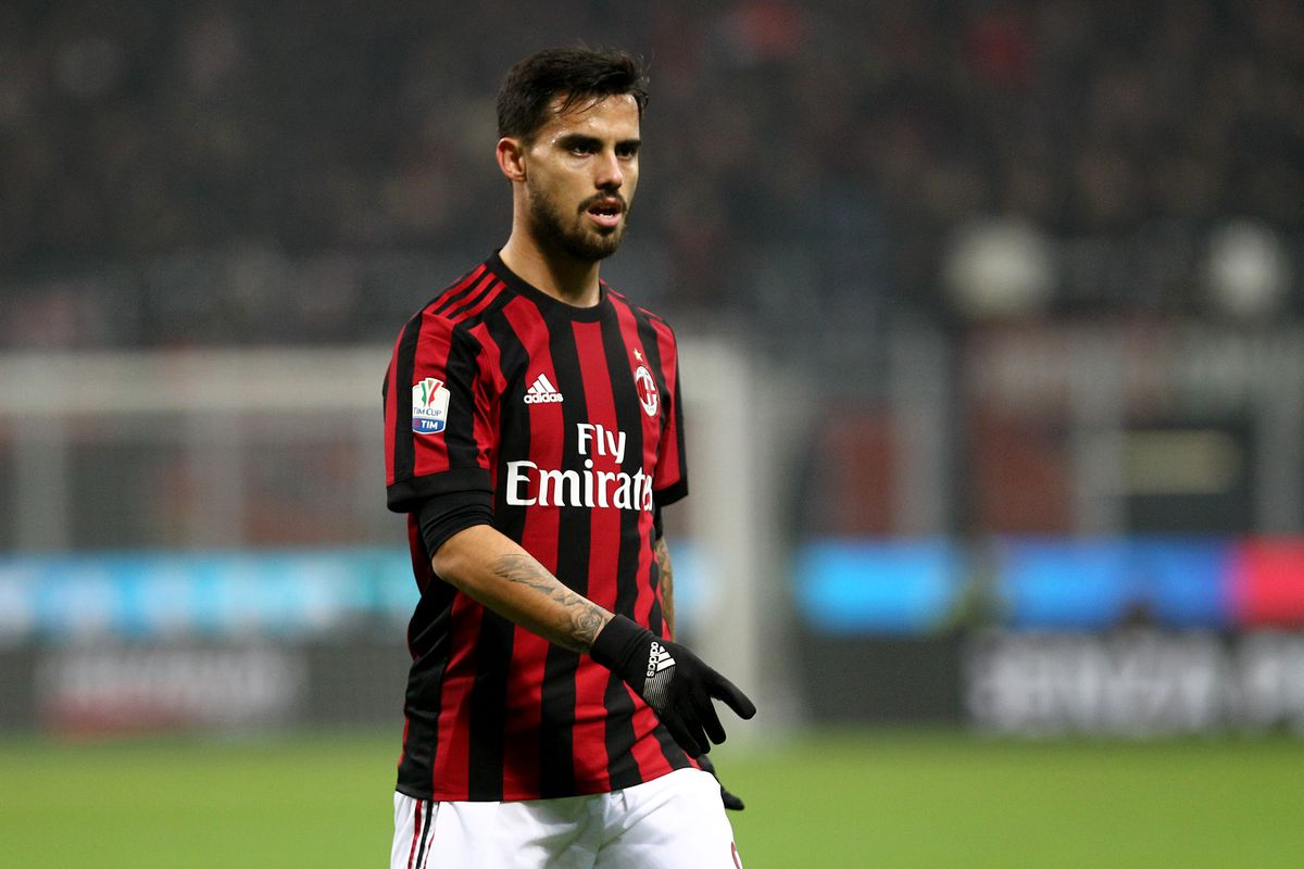 Fernandez Suso of Ac Milan   during the Tim Cup football...